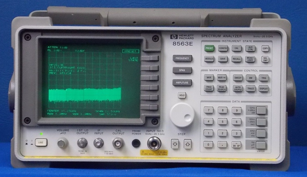 8563E - Keysight / Agilent Spectrum Analyzers