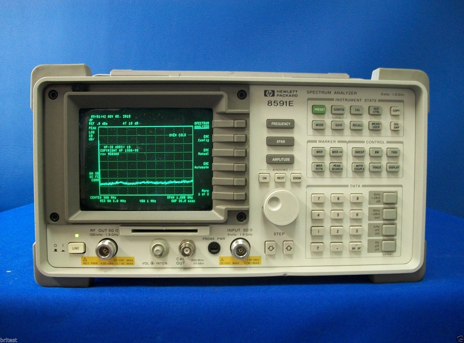 8591E - Keysight / Agilent Spectrum Analyzers