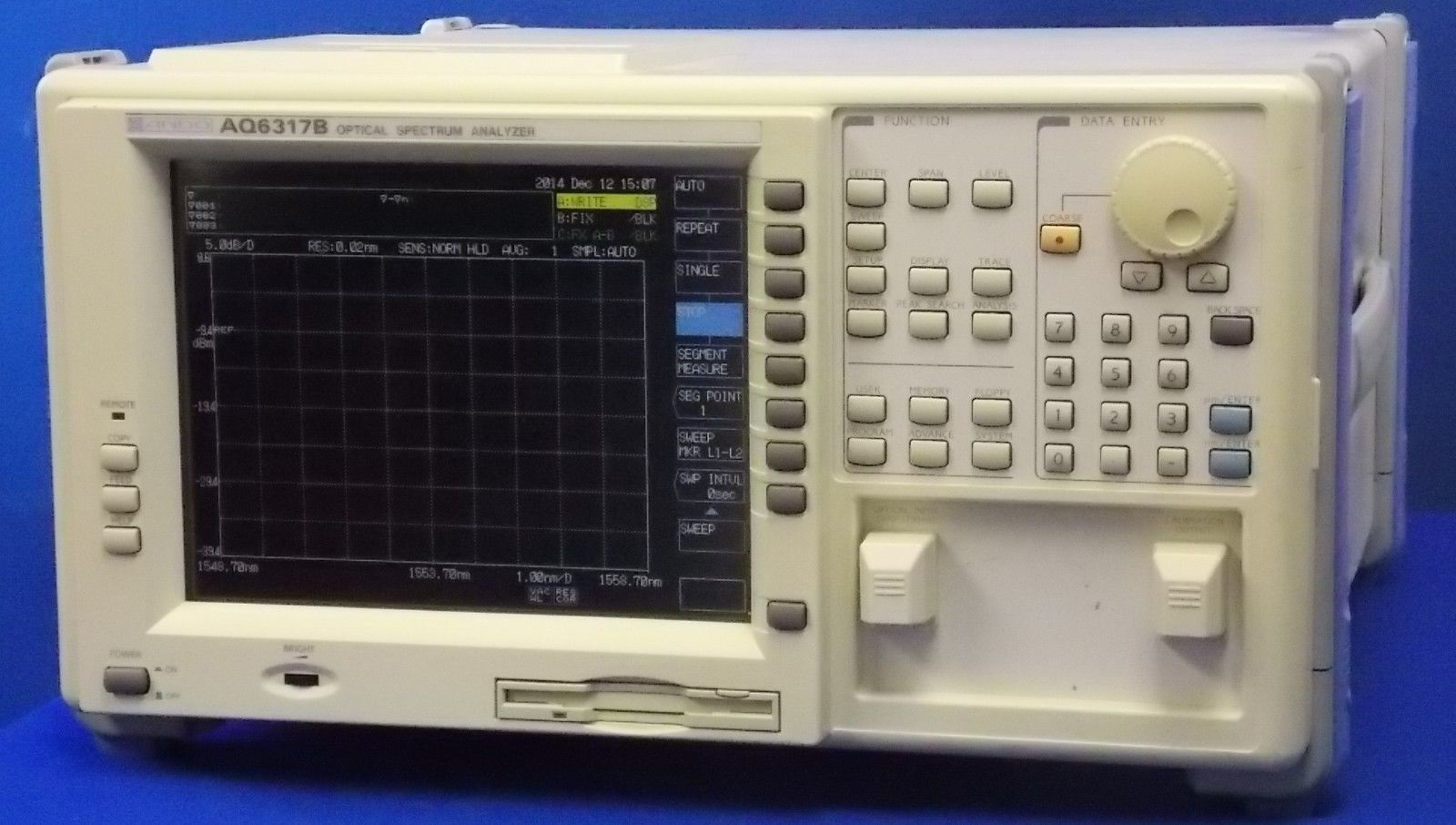 AQ6317B - Ando Optical Spectrum Analyzers