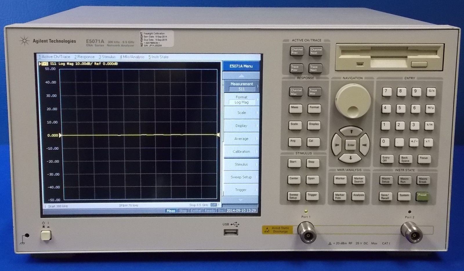 E5071A - Keysight / Agilent Network Analyzers