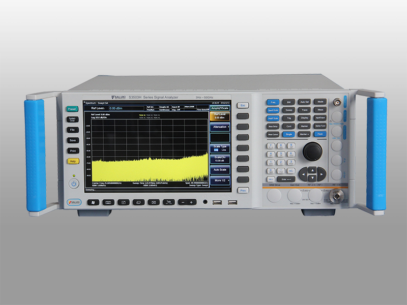 S3503F - Saluki Technologies Spectrum Analyzers