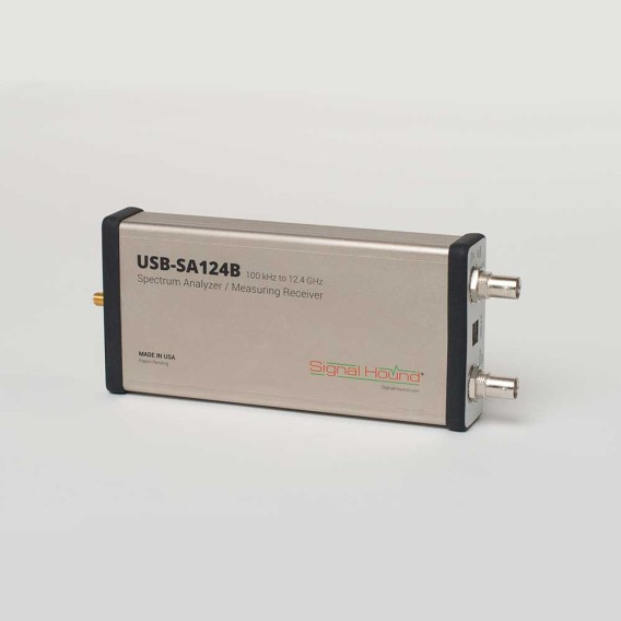 USB-SA124B - Signal Hound Spectrum Analyzers
