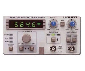 HM8030- 5 - Hameg Instruments Function Generators