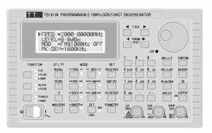 TG1010A - TTI -Thurlby Thandar Instruments Function Generators
