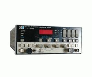 8111A - Keysight / Agilent Function Generators