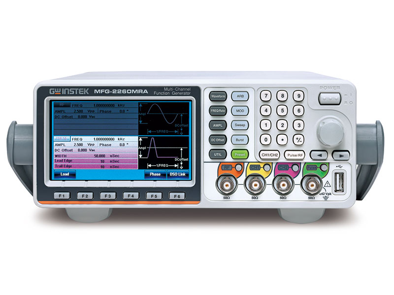 MFG-2260MRA - GW Instek Function Generators