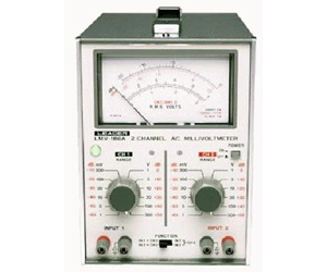 LMV-186A - Leader Voltmeters