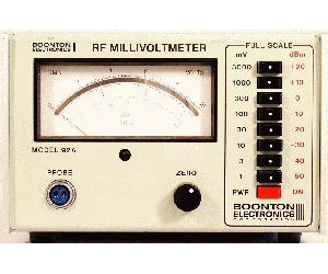92A - Boonton Voltmeters