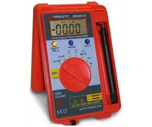 2030-C - Triplett Digital Multimeters