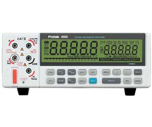 B4000 - Protek Digital Multimeters