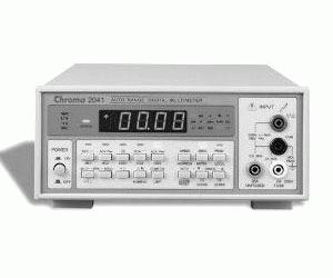 2041 - Chroma Digital Multimeters