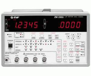 ZM2353 - NF Corporation RLC Impedance Meters