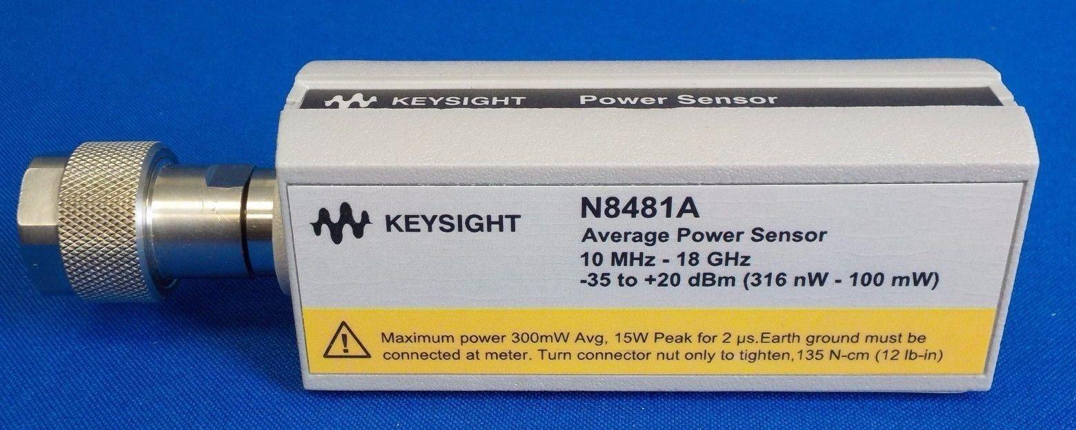 N8481A - Keysight / Agilent Power Meters RF