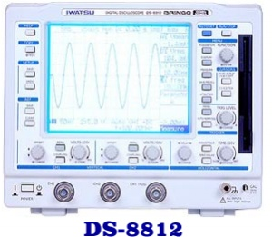 DS-8812 - Iwatsu Digital Oscilloscopes