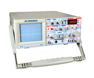 2121 - BK Precision Analog Oscilloscopes