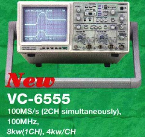 VC-6555 - Hitachi Analog Digital Oscilloscopes