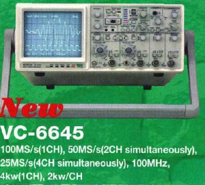 VC-6645 - Hitachi Analog Digital Oscilloscopes