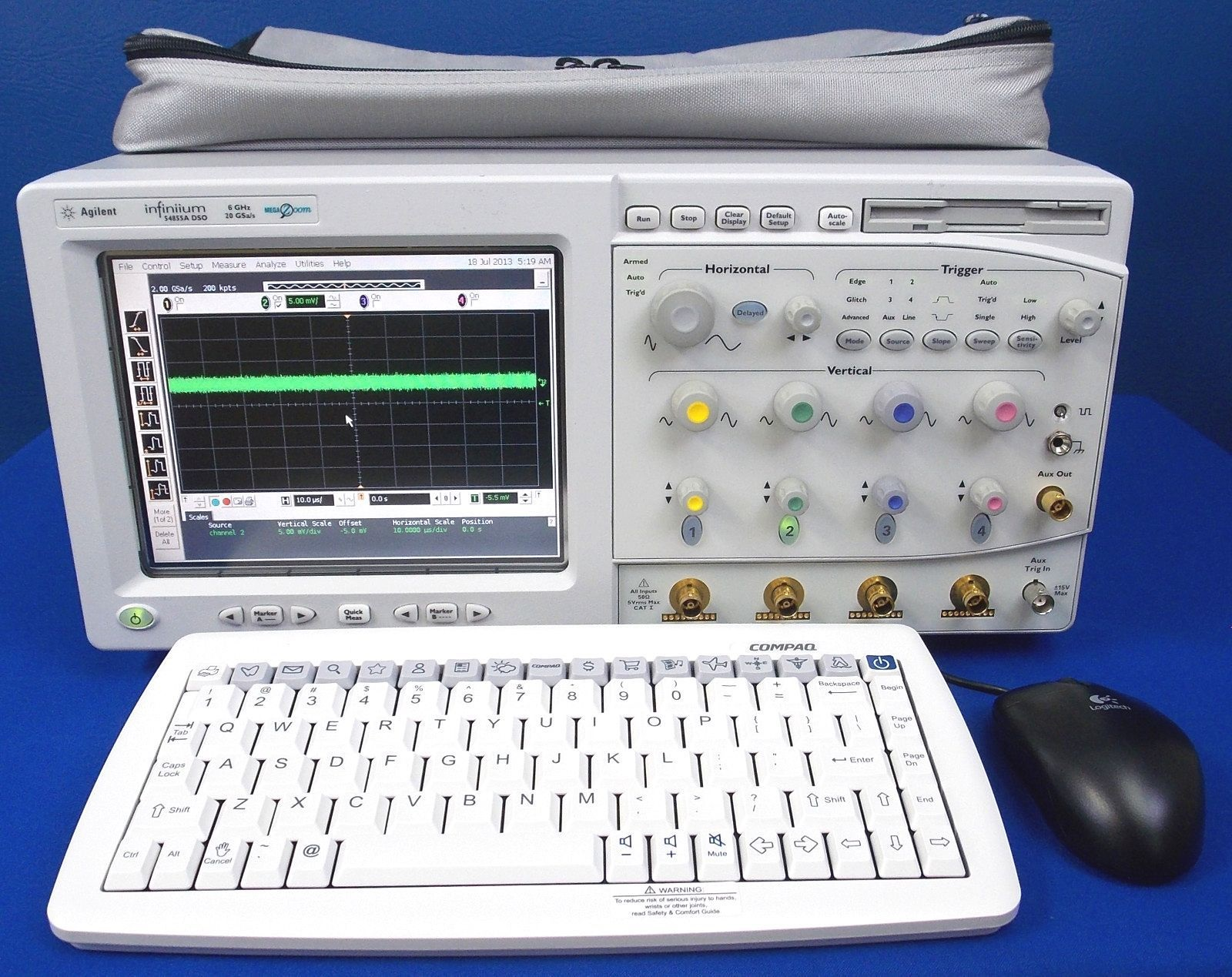 54855A - Keysight / Agilent Digital Oscilloscopes