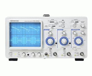 CS-4125A - Kenwood Analog Oscilloscopes