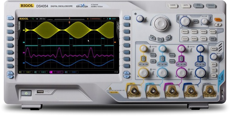 DS4054 - Rigol Technologies Digital Oscilloscopes