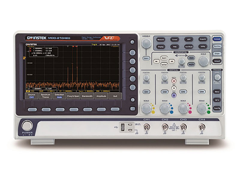 MDO-2204EG - GW Instek Digital Oscilloscopes