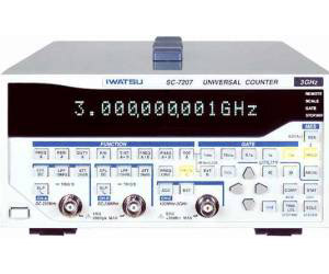 SC-7207 - Iwatsu Frequency Counters