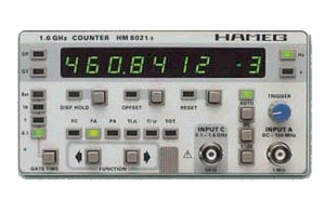 HM8021- 3 - Hameg Instruments Frequency Counters