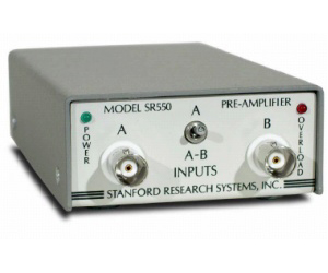 SR550 - Stanford Research Systems Preamplifiers