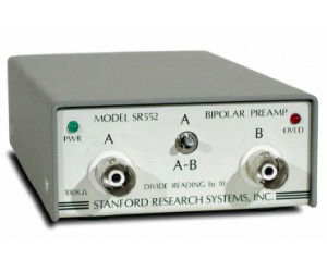 SR552 - Stanford Research Systems Preamplifiers