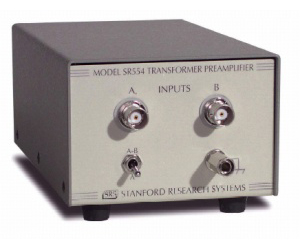 SR554 - Stanford Research Systems Preamplifiers