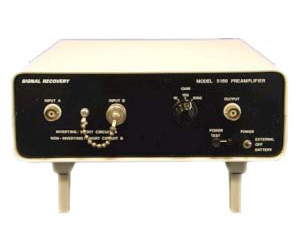 5186 - Signal Recovery Preamplifiers