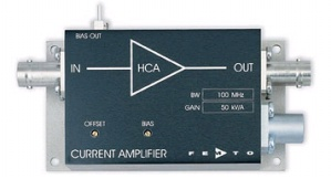 HCA-100M-50K-C - FEMTO Current Amplifiers
