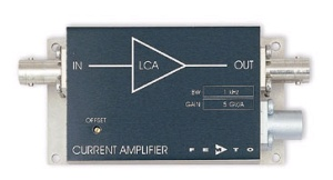LCA-400K-10M - FEMTO Current Amplifiers