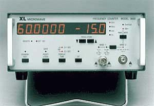 3600 - XL Microwave Frequency Counters