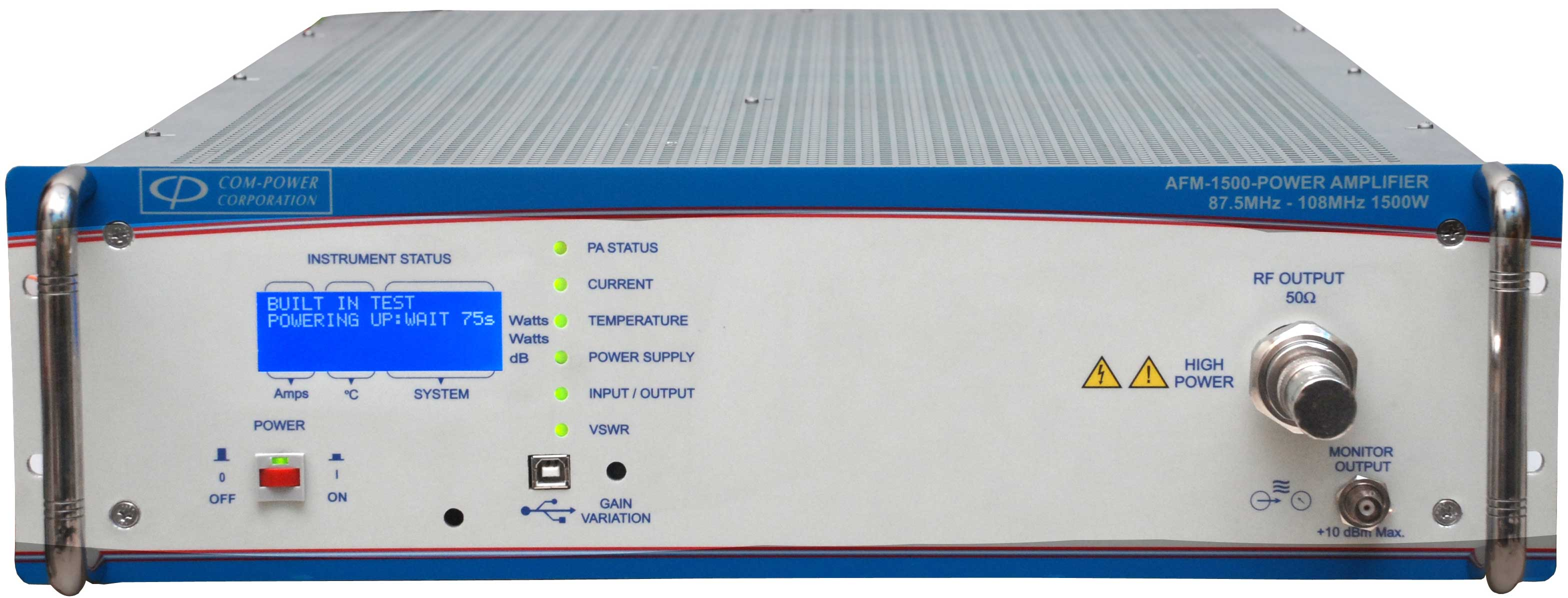 AFM-1500 - Com-Power Power Amplifiers