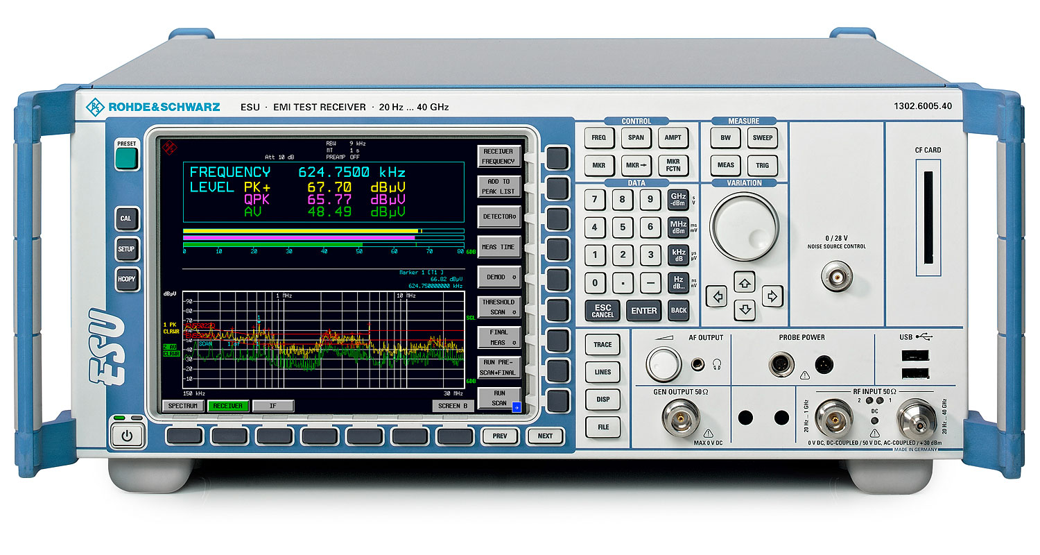 ESU40 - Rohde & Schwarz Test Receivers