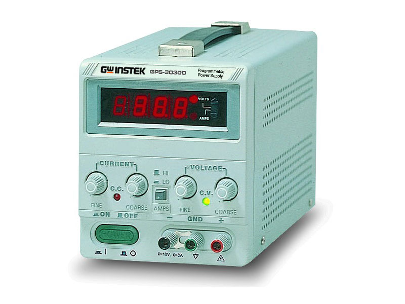 GPS-3030D - GW Instek Power Supplies DC
