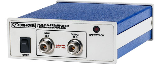 PAM-118A - Com-Power Preamplifiers
