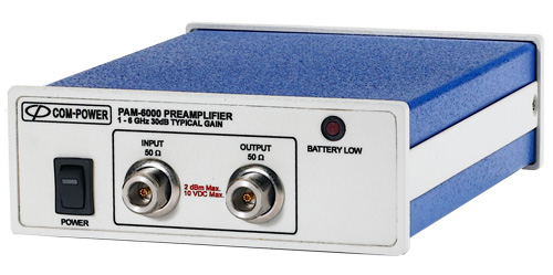 PAM-6000 - Com-Power Preamplifiers