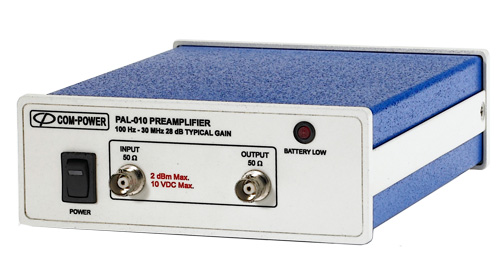 PAL-010 - Com-Power Preamplifiers