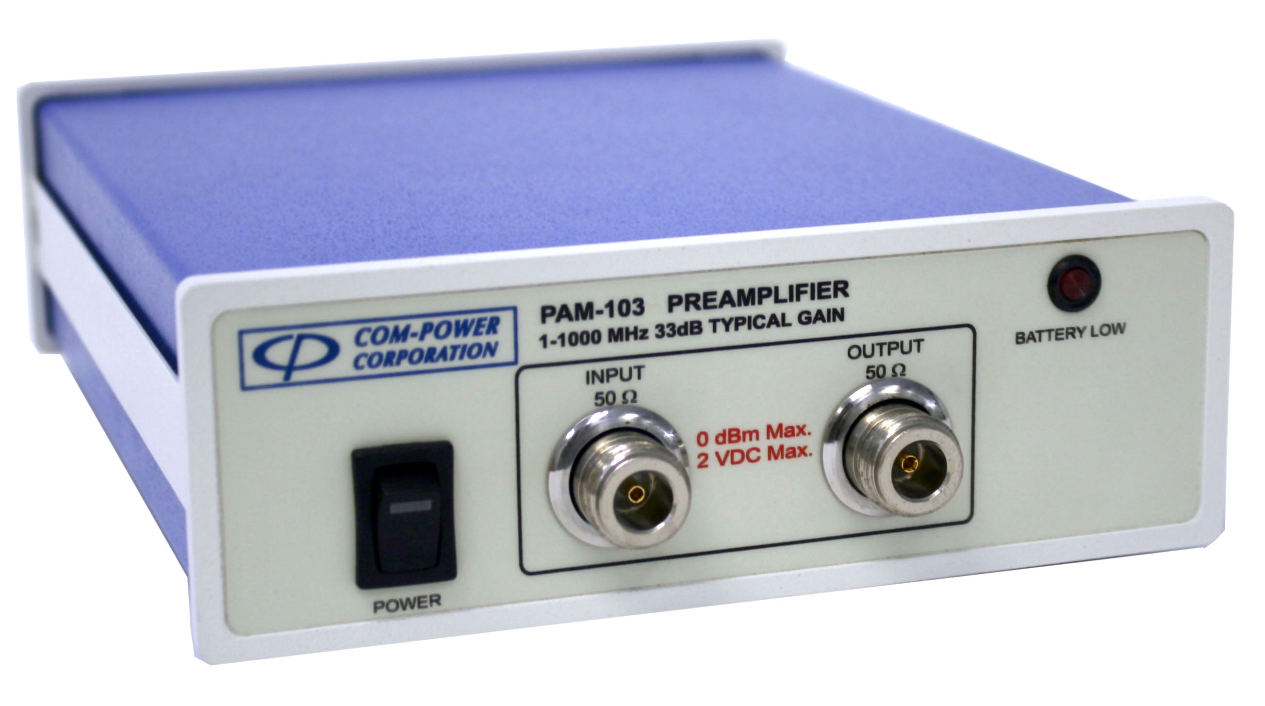 PAM-103 - Com-Power Preamplifiers